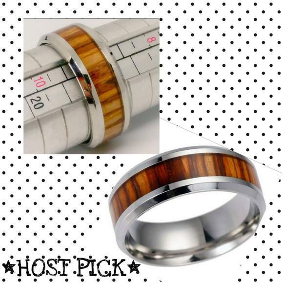 fa4584ea2 Beiver Accessories | Nwot Titanium Teak Ring | Poshmark